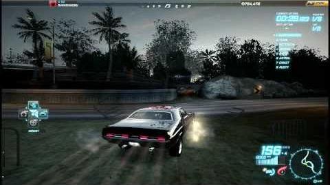 "NFS World - Circuit ""Downtown Challenge"" - Single Player - 69"