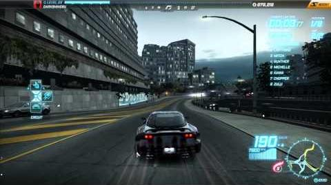 """NFS World - Circuit """"Lucky Towers"""" - Single Player - 14"""