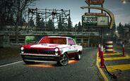 CarRelease Pontiac GTO '65 Red Juggernaut 3
