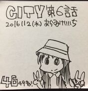 CityHatGirlSketch