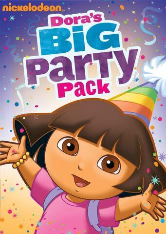 File:Dora the Explorer Dora's Big Party Pack DVD.jpg