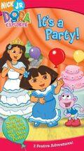 Dora the Explorer It's a Party! VHS