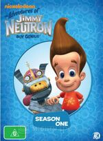 Jimmy Neutron Season One DVD Australia