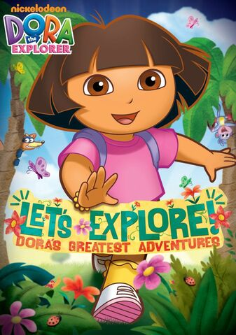 File:Dora The Explorer Let's Explore! Dora's Greatest Adventures DVD.jpg