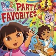 Dora the Explorer Party Favorites CD
