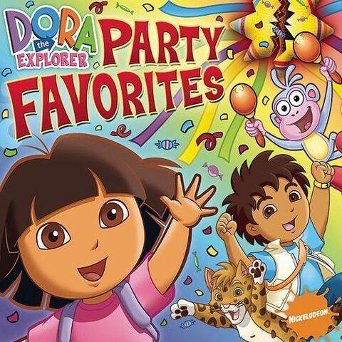 File:Dora the Explorer Party Favorites CD.jpg