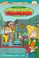 The Wild Thornberrys Drawing the Line Book