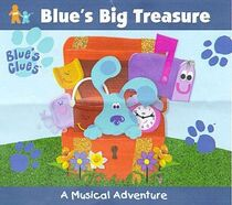 Blues Clues Blue's Big Treasure CD