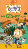 Rugrats All Growed Up UK VHS