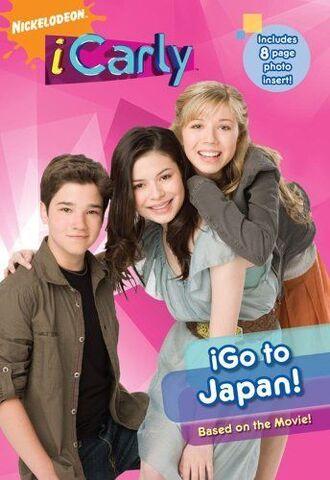 File:ICarly iGo to Japan! Book.JPG