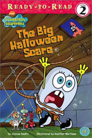SpongeBob The Big Halloween Scare Book
