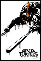 Teenage-Mutant-Ninja-Turtle-Street-Poster-Michaelangelo-600x887