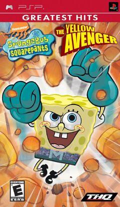SpongeBobYellowAvengerPSP