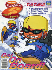 Nickelodeon Magazine Presents Rocket Power cover Nicktoons Special 2002