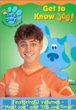Blue's Clues Get to Know Joe! DVD