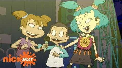 Tommy and Angelica Sing with Emica Rugrats All Growed Up Special NickSplat