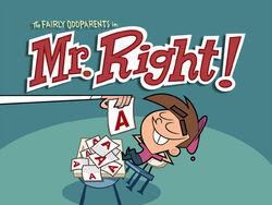 Titlecard-Mr Right