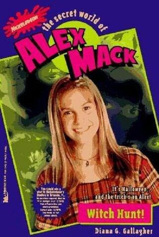 File:The Secret World of Alex Mack Witch Hunt! Book.jpg