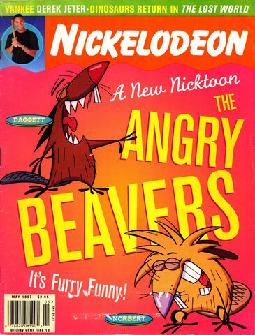File:Nickelodeon magazine cover may 1997 angry beavers.jpg