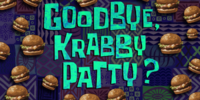 Goodbye Krabby Patty?