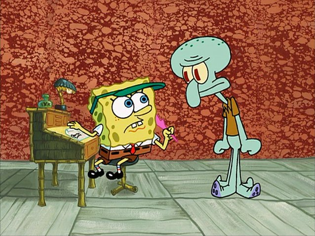 File:SpongeBob writing Squidward's letter.jpg