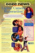 Amanda Bynes interview Ooze News Nickelodeon Magazine Nov 1999