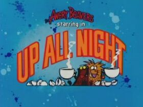 Up All Night title card