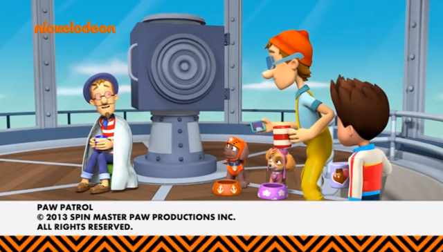 File:PAW Patrol Cap'n Turbot and Francois Turbot Captain Character Nickelodeon Nick Jr. TVOKids (2).png
