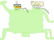 The Light Green Blob