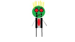 Emerald the robot