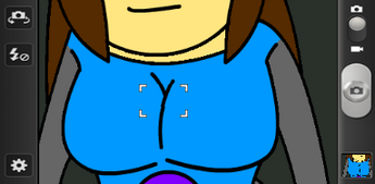 Lucy bewbs pic