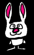 Fluffy the bunny