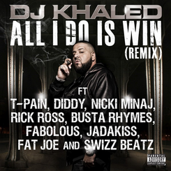 All I Do Is Win cover