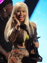 Bet awards nicki