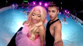 Beauty and a Beat vid still