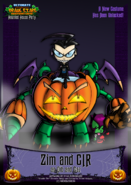 Nicktoons invader zim halloween costume by neweraoutlaw-d6qndg5