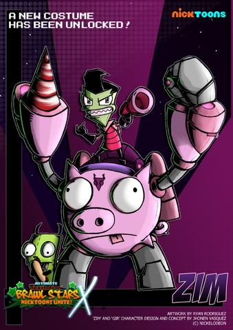 File:Nicktoons invader zim alternate costume by neweraoutlaw-d61u4j8.png