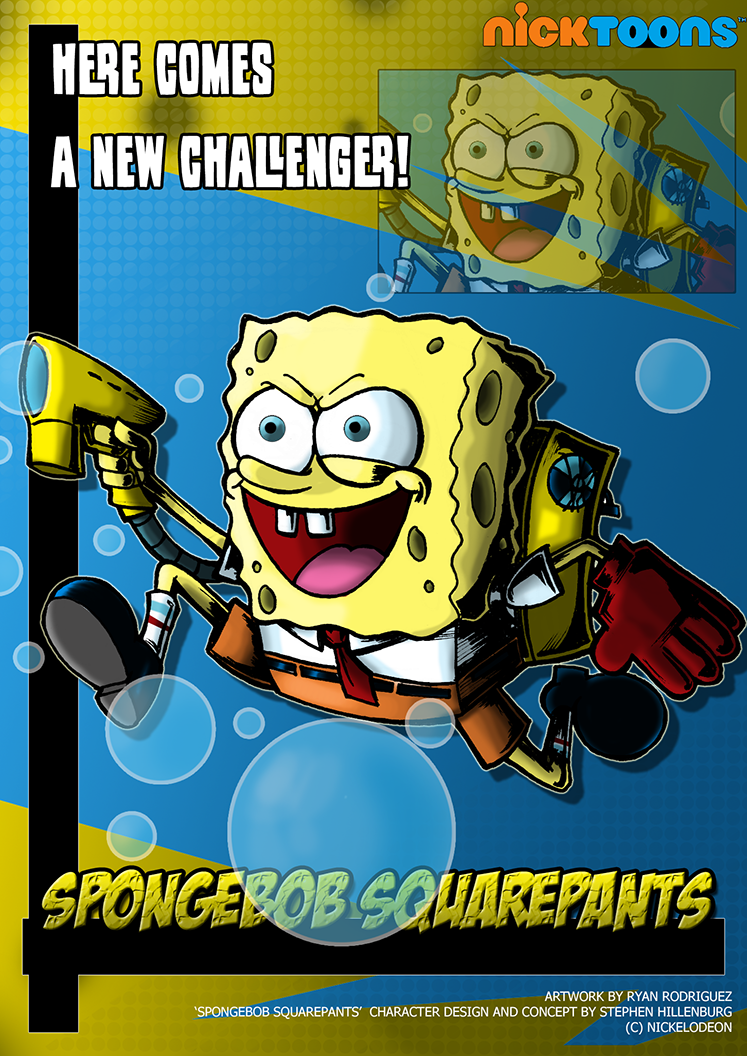 spongebob squarepants character cartoon crossover wiki
