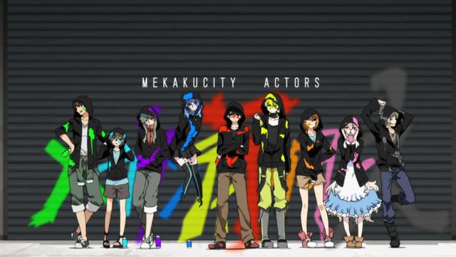 File:Mekakucity actors OP daze.png