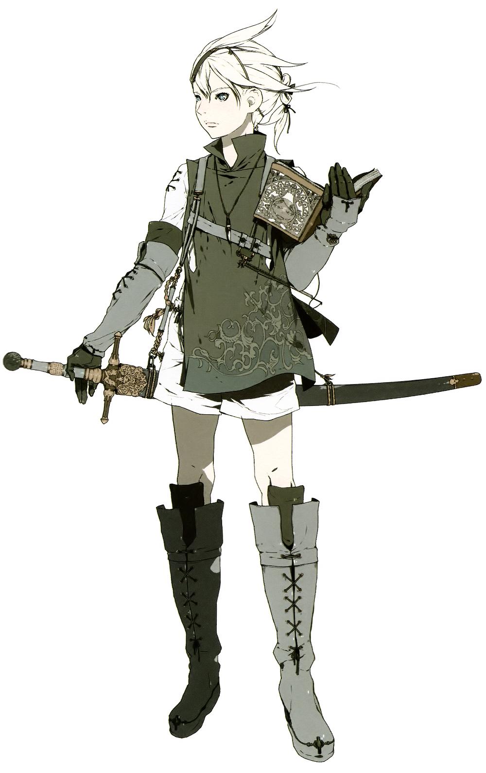 nier automata machine weapons
