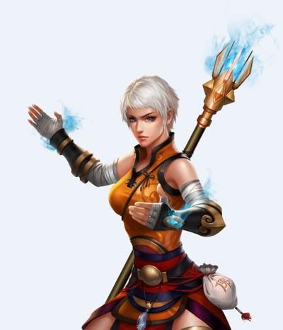 Nightfall Female Monk