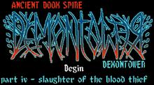 Demontower Title Screen