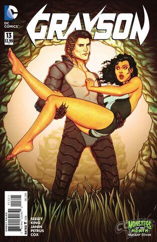 File:Grayson 13 Cover (Monster Variant).jpg