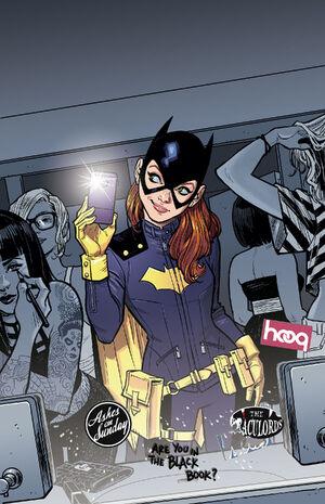 Batgirl Vol 4 35 Textless