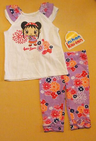 File:Nickelodeon Infant Girls Ni Hao, Kai-Lan 2-Piece Outfit Clothing Set 12 Mos.jpg
