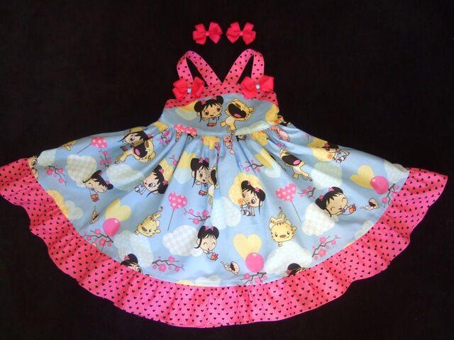 File:Ni Hao Kai Lan Girls Dress Size 2T with Hairbows.jpg