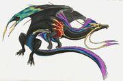 Infinyr Great Universe Dragon by Ahrkeath