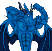 Blue dragon flex digital by ani1996-d4xxm7d