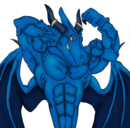 Blue dragon flex digital by ani1996-d4xxm7d