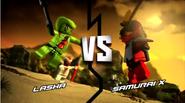 Lasha vs samurai x